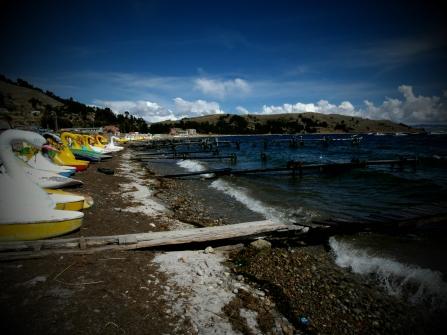 Lake Titicaca, Copacabana
