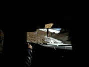 cesta necesta - 4 dny před začátkem naší tour prostě v poušti nasněžilo, což zkomplikovalo průjezdnost trasou - netrasou (občas mi šla hlava kolem, dle čeho si vybírá cestu???)