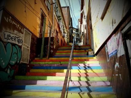 Valparaiso - raj street artu