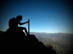 vystup na Cerro de la Campana