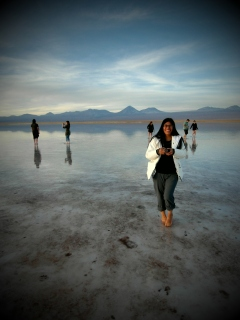 crazy Peruánka Isabel - takhle posedlou osobu focením a přitom nádherně unešenou ze všeho, to jsem ještě nepotkala...