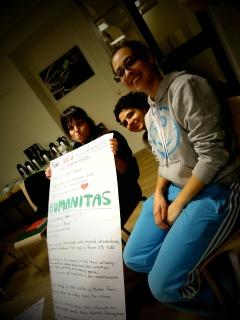 Humanitas, Laura_Spanelsko, Elena_Recko a Jenny_Spanelsko