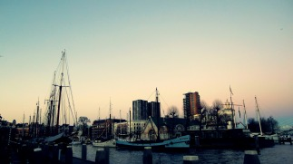 Rotterdam old harbour