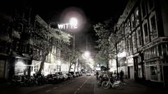 Arty Witte de withstraat in Rotterdam