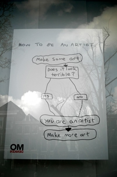 everybody can be an artist : )