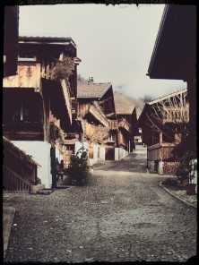 Cozy streets in Brienz