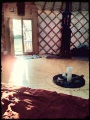Yurt magic.