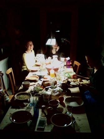 Queens dinner.